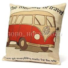 VOLKSWAGON VW CAMPER, BEETLE, ALL YOU NEED IS LOVE PILLOWS! 3 STYLE TO CHOOSE