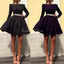 Sexy Cocktail Dresses Long Sleeve Prom Dress Evening Dresses Elegant Party Gown