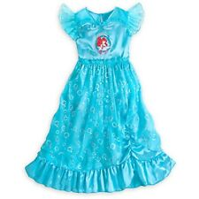 NWT Disney Store Ariel The Little Mermaid Princess Nightgown Royal Gown NEW