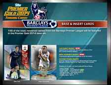 2014 TOPPS PREMIER GOLD EPL FOOTBALL/SOCCER BASE CARDS (102-150) CHOOSE PLAYERS