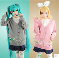 NEW Vocaloid Kagamine Rin / Len cosplay Knitwear sweater everyday coat