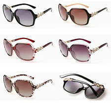 Brand Designer New Black Vintage Ladies Womens Girls Fashion Sunglasses UV400