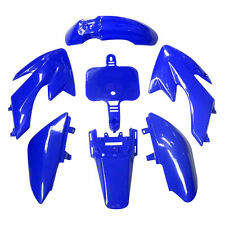 BRAND NEW CRF50 PLASTIC FENDER BLUE RACING FAIRING FOR DIRT BIKE PIT FOR HONDA