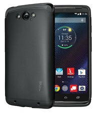 TUDIA Slim LITE TPU Soft Gel Case for Motorola DROID Turbo Ballistic Nylon ONLY