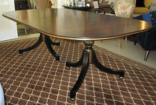 Lillian August Hickory White Wessex Double Ped Dining Table JUST REDUCED $200!!!