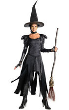 LICENSED ADULT DELUXE WICKED WITCH OF THE WEST WIZARD OZ DRESS HALLOWEEN COSTUME