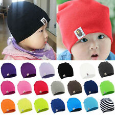 Boy Girls Child Newborn Baby Infant Toddler Kids Cotton Cute Hat Beanie Cap