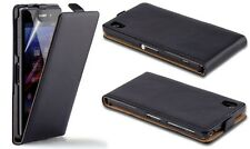 New Luxury Real Leather Flip Wallet Case Stand Cover Skin For iPhone Samsung HTC