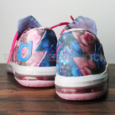 NIKE YOUTH KD VI GS AUNT PEARL PINK BREAST CANCER KAY YOW 599477 602 FLORAL EXT