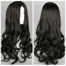 Womens Lot Full wigs Long Curly Wavy heat resistant hair Wig Cosplay Party Wigs