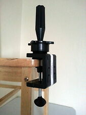 From UK: Mannequin / Canvas Head Holder. C Clamp. Universal Wig Block Stand