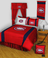 NHL Montreal Canadiens 10 Piece Bed in Bag - Twin, Full, Queen - Hockey