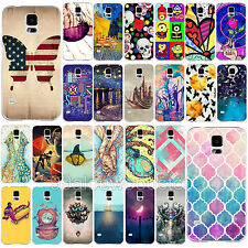 Fashion Various EuropeStyle Pattern Phone Case Cover for Samsung Galaxy S4 S5