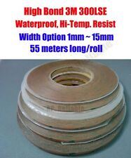 W(1mm~15mm) Ultra Adhesive Tape for Smartphone Touch Screen LCD Fix, 3M 9495LE