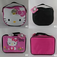 Hello Kitty Thermos Insulated Lunch Kit Cool Bag Fashion Case 100% PVC Free NWT