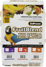 ZuPreem Bird/Parrot Food FruitBlend Fruit Blend 35 lb bag