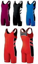 ASICS Unrestrained Wrestling Singlets Mens Adult & Youth JT1154, 5 Colors Listed