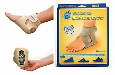 Heel That Pain with the Heel Seat Wraps™ - two pcs inside the box. 1 each foot.