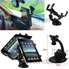 "Rotating Windshield Car Mount Desk Suction Holder For 7"" 8"" 10.1"" Various Tablet"
