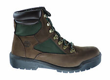 Timberland 6 Inch Field Men's Waterproof Hiking Field Boots Brown/Green 72510