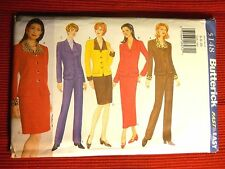 Misses Jacket Skirts & Pants Butterick 5148  Sizes 4 - 22