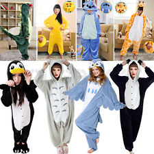 UNISEX KIDS ADULT KIGURUMI ANIME PYJAMA COSPLAY COSTUME SLEEEPWEAR ANIMAL ONESIE