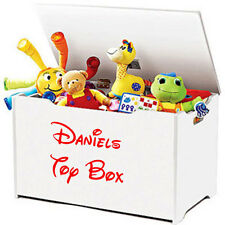 PERSONALISED CHILDRENS KIDS NAME TOY BOX VINYL STICKER