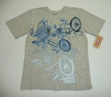 Levi's Boys Size L(16-18) or XL(20) Gray Bicycle Shirt New