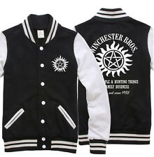 Wholesale and retail: supernatural Winchester graphics male baseball jacket