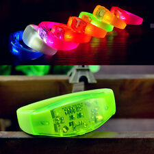 Voice Control LED Light Bracelet Bangle Sound Activated For Party Rave Concert