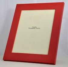 Modern Red Photo/Picture Frame 29mm wide - Various Sizes available
