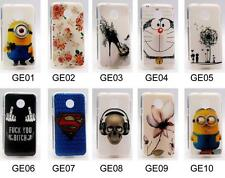 For Huawei Ascend Y330 Soft TPU Girl Bear Superman Rose Tower Minions Case Cover