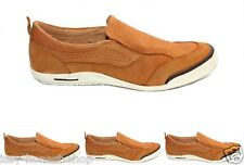 MENS GENUINE LEATHER SLIP ON BOAT DECK MOCCASIN LOAFER CASUAL SHOES SIZE 6-12