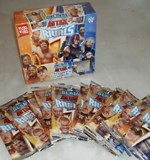 Topps WWE Slam Attax Rivals Trading Cards: Choose Quantity 6 12 24 packs or Box
