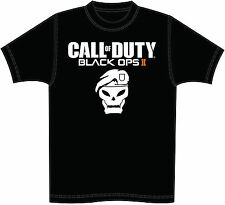 GAME ICONZ CALL OF DUTY BLACK OPS II TEE SHIRT COD 2 PS3 XBOX WITH GAMER TAG