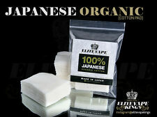 EVK Japanese Organic Cotton Pads   SUPER ABORBENT & UNBLEACHED  Best for Vaping