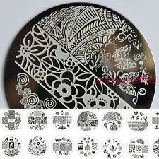 JQ Series New Design Nail Art Image Stamp Stamping Plates Manicure Template Tool