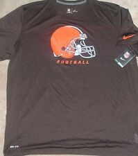 Cleveland Browns T Shirt NIKE Dri Fit Mens Adult NEW NWT