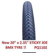 "20"" X 2.35  ""STUNT""  BMX  TYRE !! All round tread  (option tyre + tube) PQ1102"