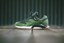 SAUCONY GRID 9000 THREE DOTS PACK OLIVE GREEN Sz 11.5 charcoal fieg kith ds