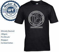 Bruce Springsteen T-Shirt,  Johnstown Construction Company inspired by The River