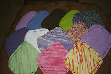 New - Hand Knit Dish Cloths - Variety of Colors - Shipping discount for multiple