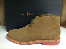 Polo Ralph Lauren Torrington Chukka Boot Men's Ankle Pull On Boots Shoes Snuff