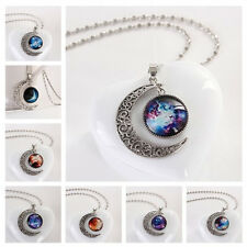 1-12 Series explosion Moon Star models in America gemstone necklace time