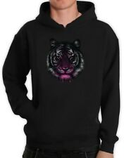 Tiger Hoodie Dripping Cool Birthday Gift Idea Holiday Pullover Hooded Top Hodie