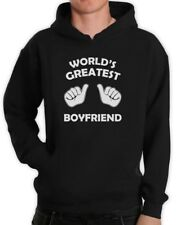 World's Greatest Boyfriend Hoodie Gift For Valentine's Day Matching Couple Top