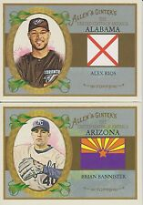 2008 Topps Allen & Ginter United States Complete Your Set!