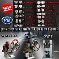 TABLET / PILL PRESS MOULD & DIE SET FOR TDP-0/1.5 OR TDP-5 WITH LOGO OR SHAPE