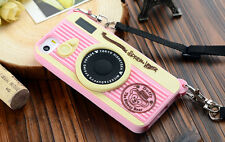 For Apple iphone 5 / 5S / 6 / 6 Plus New Silicon Soft Case 3D Camera Style Cove