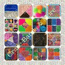 NEW Style Wholesale Lot Rainbow Rubber Band Refill fit Loom High Quality Colors
